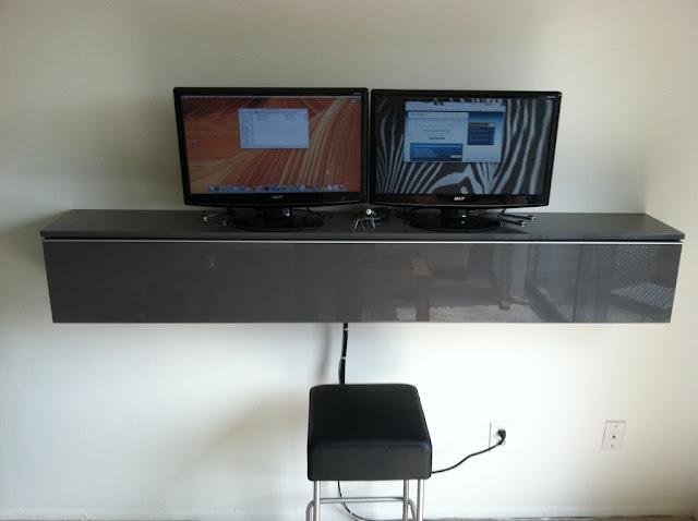 biurko z mebli ikea nie do ko ca banalne przyk ady. Black Bedroom Furniture Sets. Home Design Ideas
