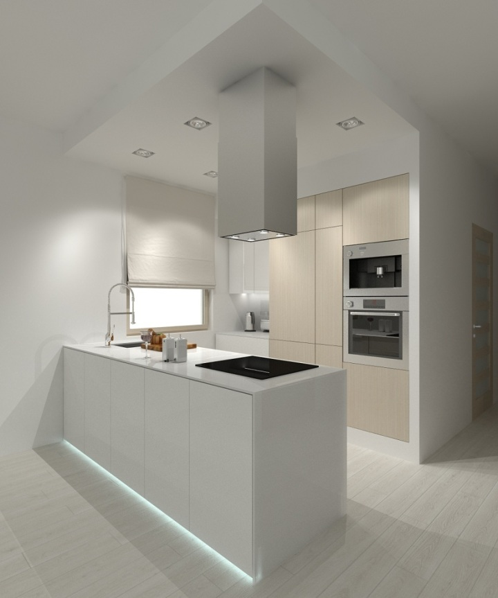 kuchnia w stylu minimalistycznym