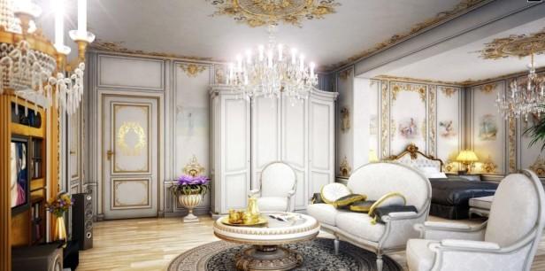 Cechy stylu wiktoria skiego for Victorian villa interior design